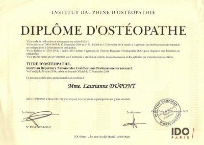 Institut Dauphine - 2